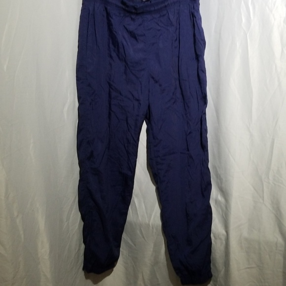 adidas Other - Adidas  joggers in navy blue, zipper hems Men's